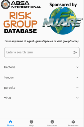 Risk Group Database App